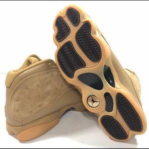 1552c92f585492 Nike Shoes - Nike Mens Air Jordan 13 Retro Wheat Element Gold